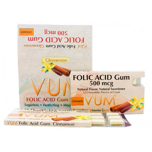Folic Acid Cinnamon Gum