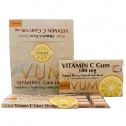Vitamin C Orange Gum