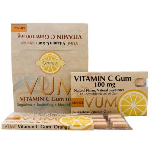 Vitamin C Orange Gum